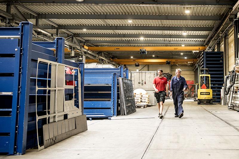 Eeftink Rensing, werkplaats en magazijn in Lichtenvoorde